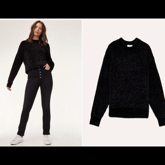 Wilfred salette sweater in black sz s
